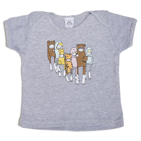 Twelve Grain (Sam Flores) - Costumes Kids Infant Tee, Grey