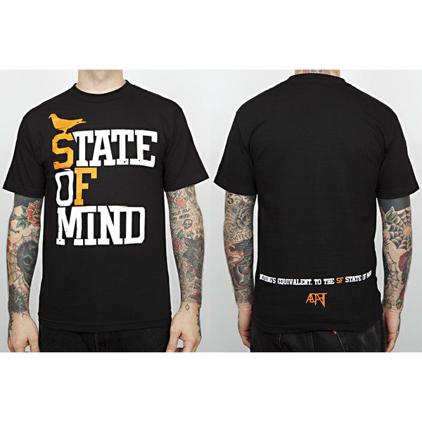 Adapt - State Of Mind Men's Shirt, Black - The Giant Peach