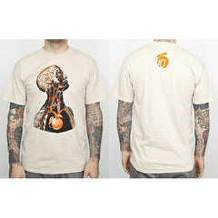 "The Giant Peach - ""10th Anniversary"" Runs Deep Men's Shirt, Sand - The Giant Peach"