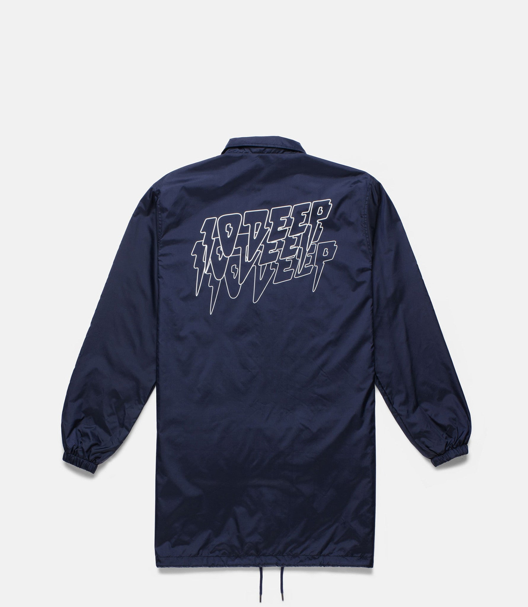 10Deep - Sound & Fury Coach's Trench, Navy - The Giant Peach - 1