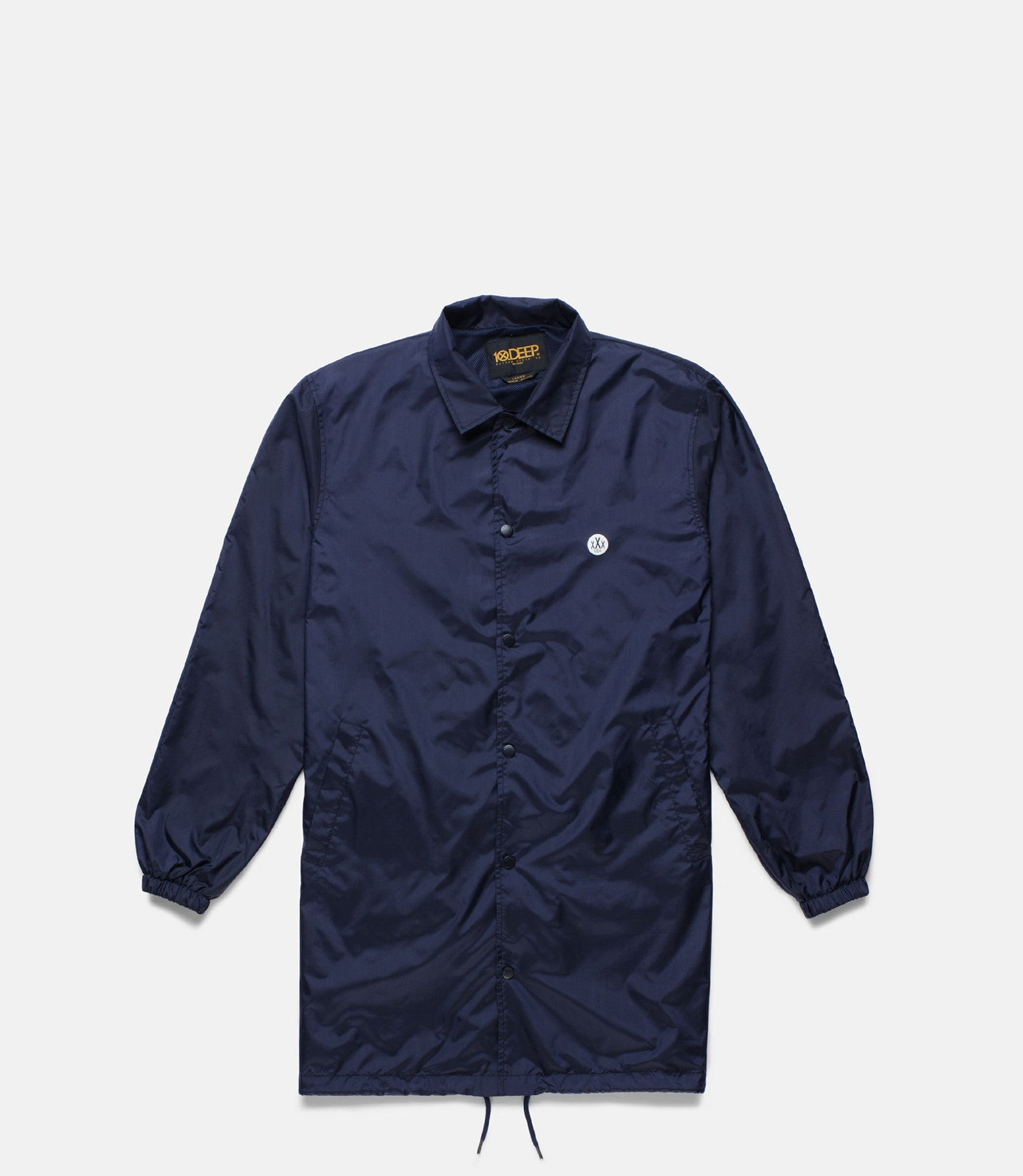 10Deep - Sound & Fury Coach's Trench, Navy - The Giant Peach - 2