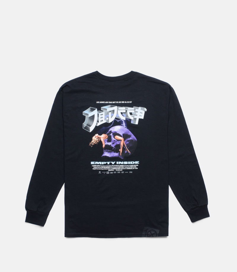 10Deep - End Game Men's L/S Tee, Black - The Giant Peach