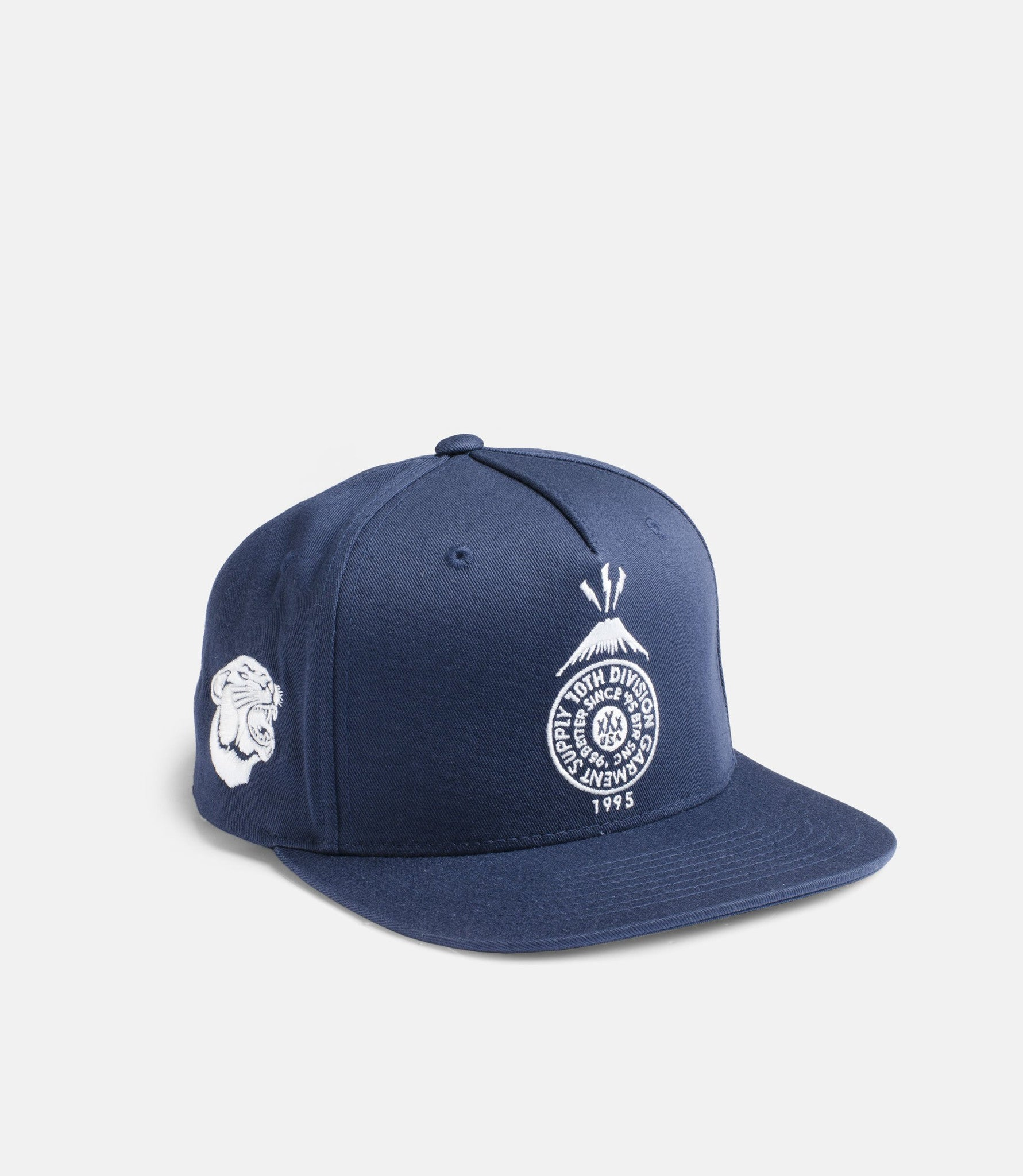 10Deep - Souvenir Snapback, Navy - The Giant Peach - 2
