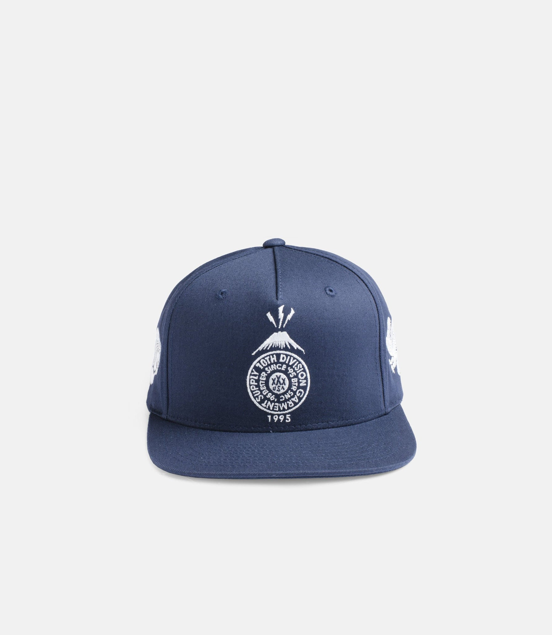 10Deep - Souvenir Snapback, Navy - The Giant Peach - 1