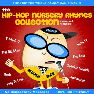The Hip-Hop Nursery Rhymes Collection - Volume 1, CD - The Giant Peach