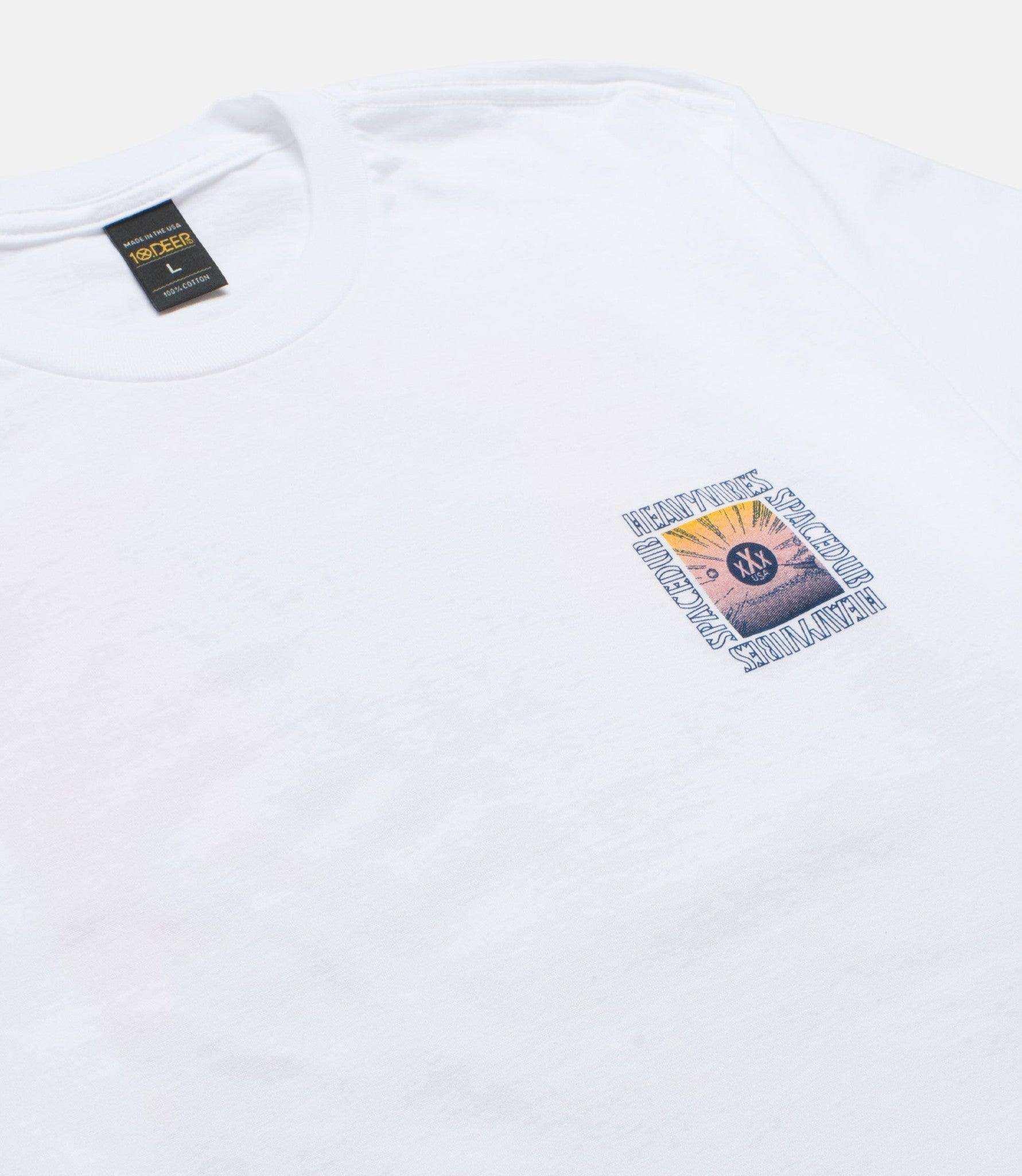 10Deep - Space Vibes Men's Tee, White - The Giant Peach - 4