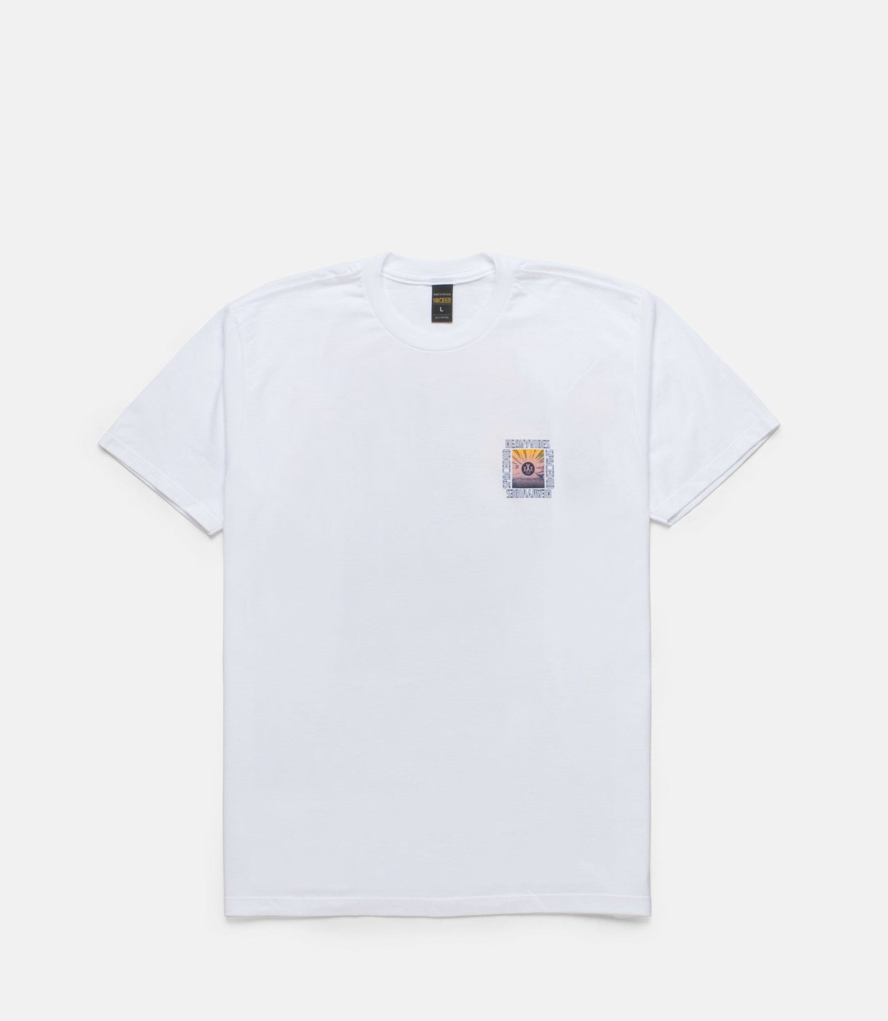 10Deep - Space Vibes Men's Tee, White - The Giant Peach - 2