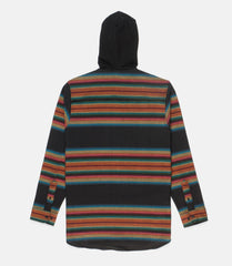 10Deep - CB's Hooded Men's Flannel, Black - The Giant Peach - 4