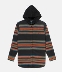 10Deep - CB's Hooded Men's Flannel, Black - The Giant Peach - 3