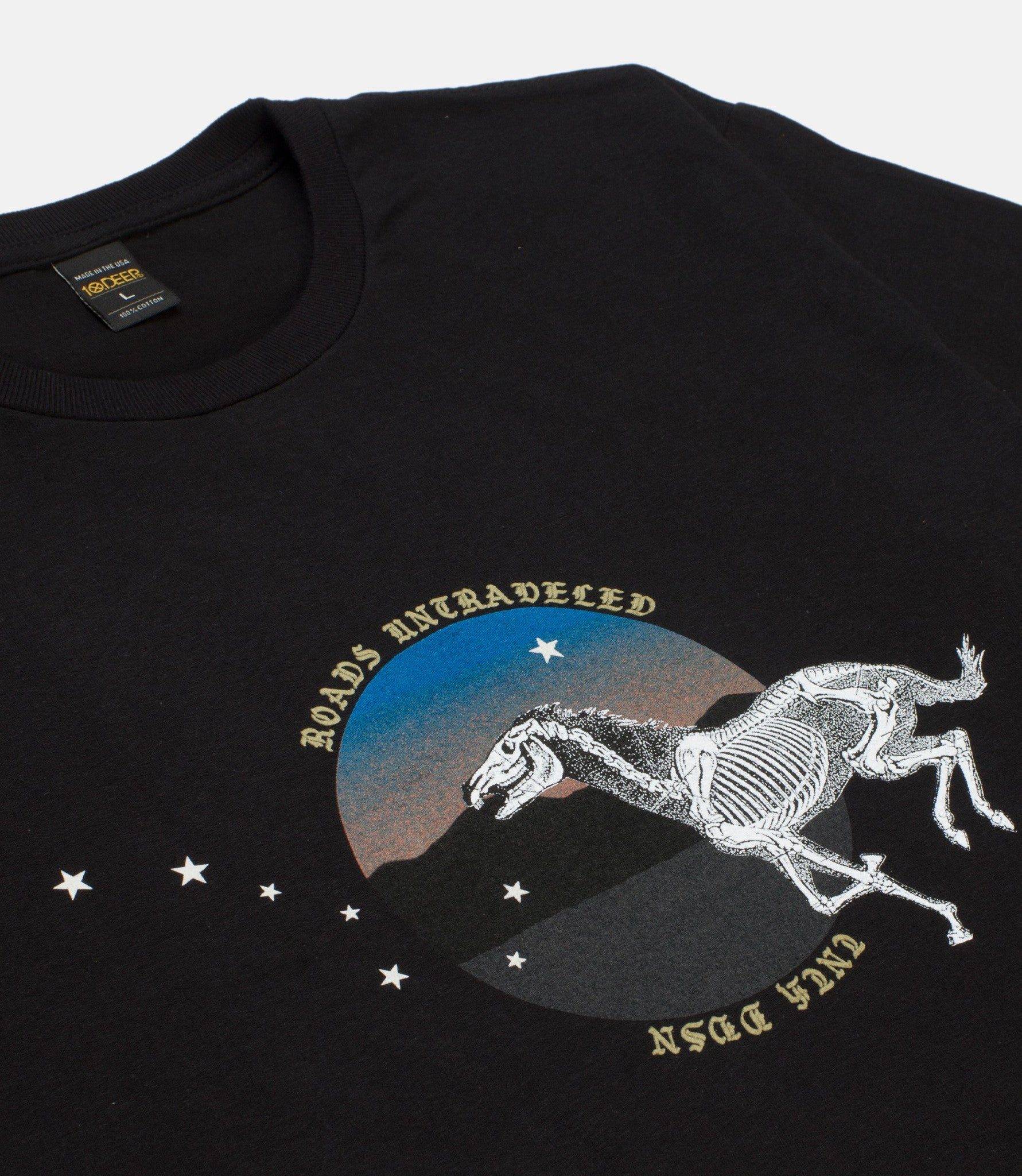 10Deep - Riding With Death Men's Tee, Black - The Giant Peach