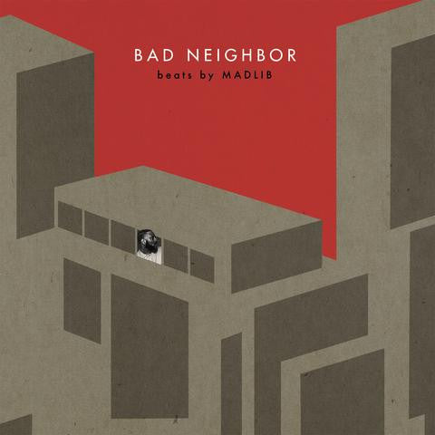 MED, Blu, Madlib - Bad Neighbor Instrumentals, 2xLP + Download Card - The Giant Peach