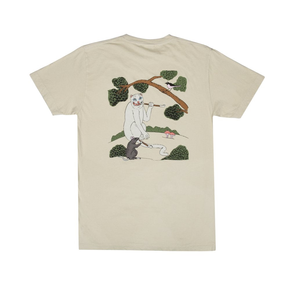 RIPNDIP - Pipe Dreams Men's Tee, Tan