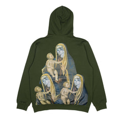 RIPNDIP - Madonna Men's Hoodie, Olive - The Giant Peach