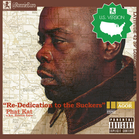 Phat Kat - Re-Dedication To The Suckers, LP (U.S. Version)