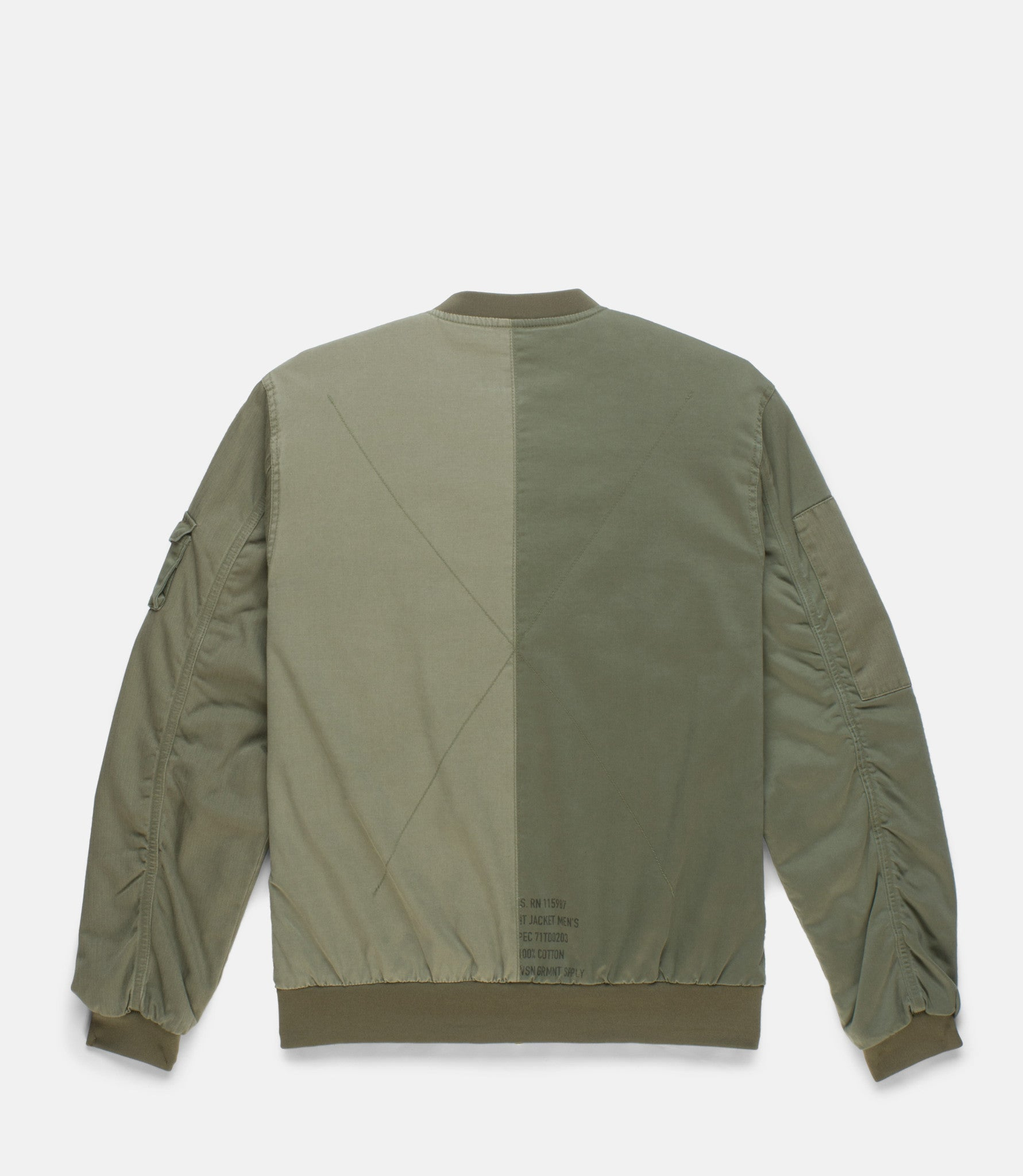 10Deep -  Surplus Aviator Men's Jacket, Army - The Giant Peach