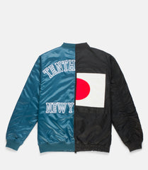 10Deep -  Culture Clash Men's Jacket, Black - The Giant Peach