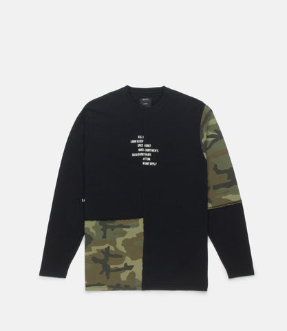 10Deep - Surplus Camo Men's L/S Tee, Multi