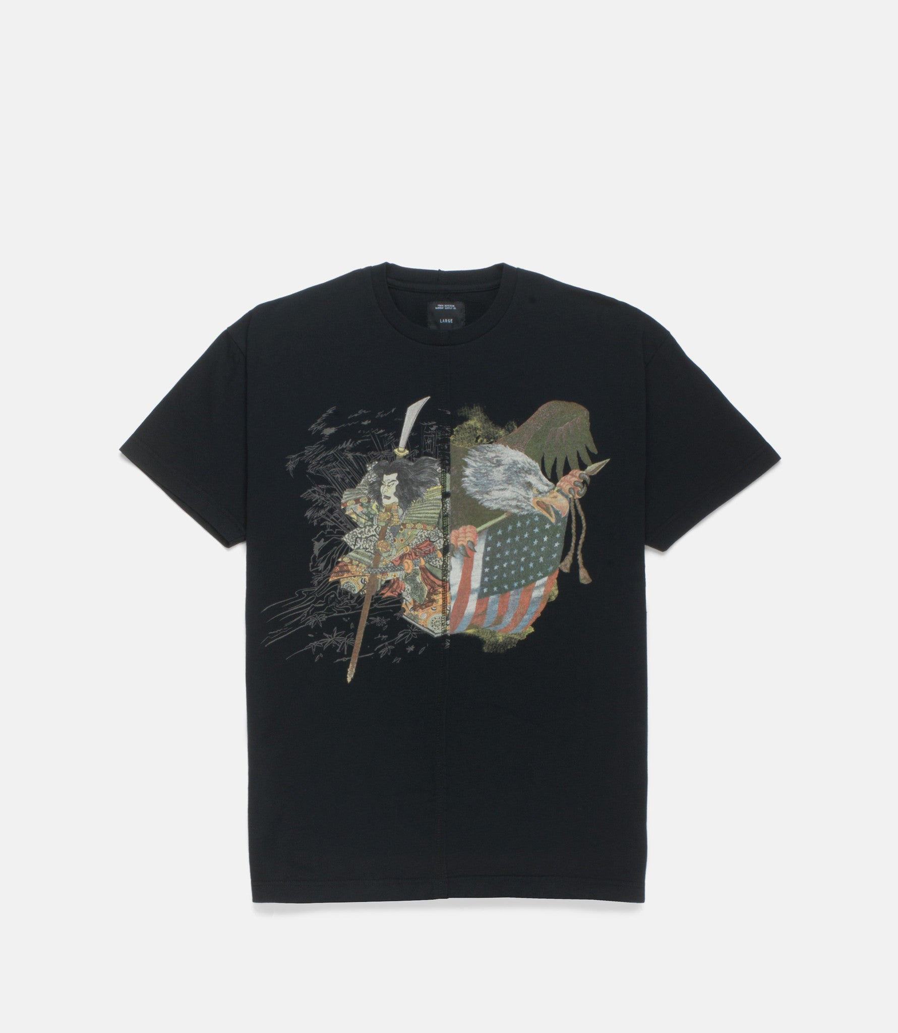 10Deep - Washinosenshi Split Men's Tee, Black - The Giant Peach
