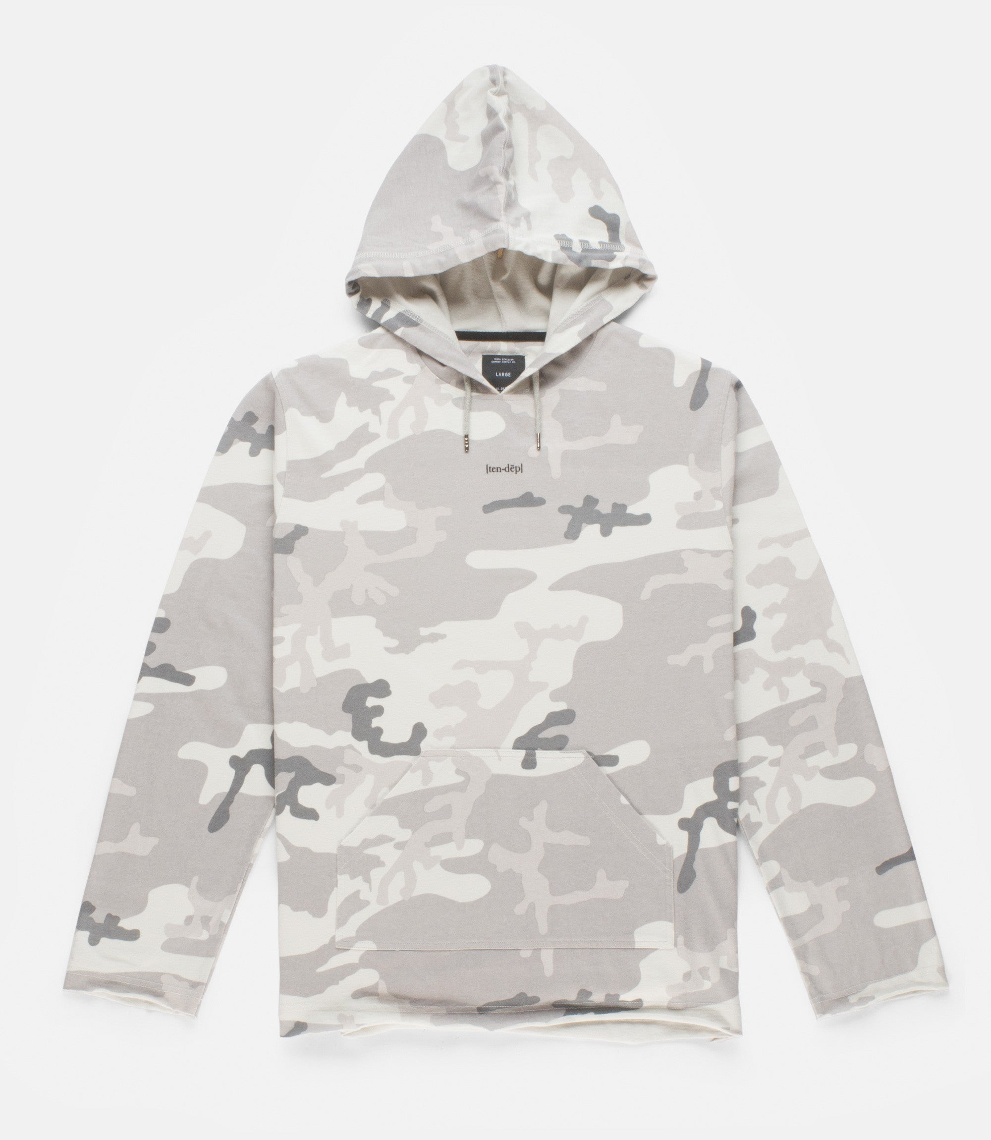 10Deep - Arctic Woodland Hooded Men's Tee, Arctic Woodland - The Giant Peach
