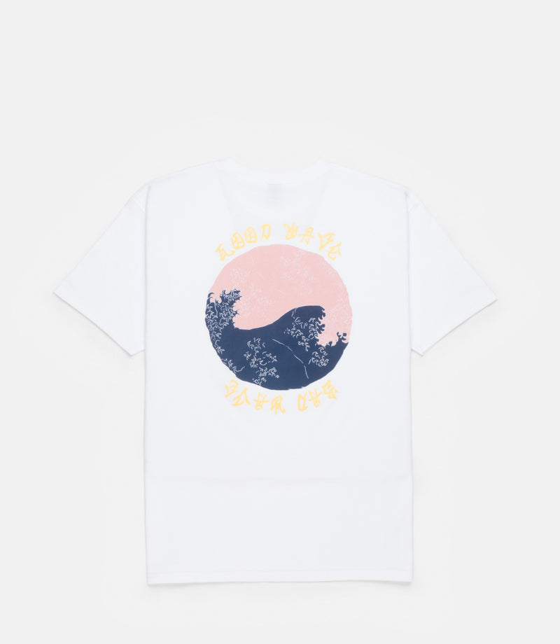 10Deep - Waves Men's Tee, White - The Giant Peach