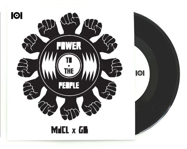 "MdCL & GB - Power To The People, 7"" Vinyl"