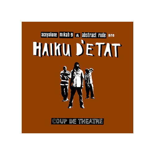 Haiku D'Etat - Coup De Theatre CD+DVD - The Giant Peach