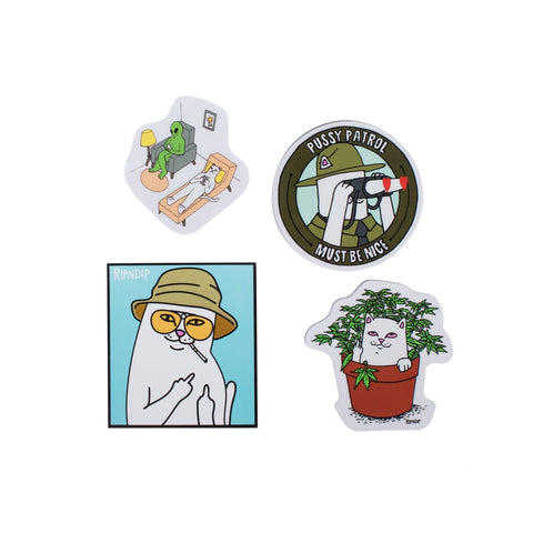 RIPNDIP - Fall 2017 Sticker Pack