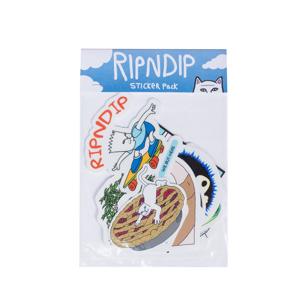 RIPNDIP - Fall 2017 Sticker Pack - The Giant Peach