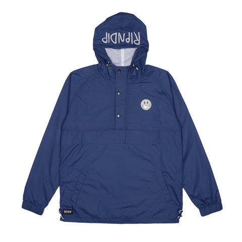 RIPNDIP - Everything Will Be OK Men's Anorak Jacket, 3M/Navy