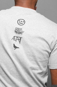 Adapt x Souls of Mischief - 93 'til Infinity Men's Shirt, Heather - The Giant Peach
