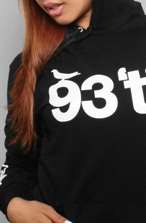 Adapt x Souls of Mischief  - 93 'til Pullover Women's Hoodie, Black