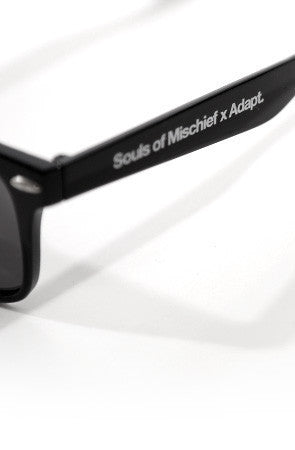 Adapt x Souls of Mischief - 93 til Sunglasses, Black - The Giant Peach
