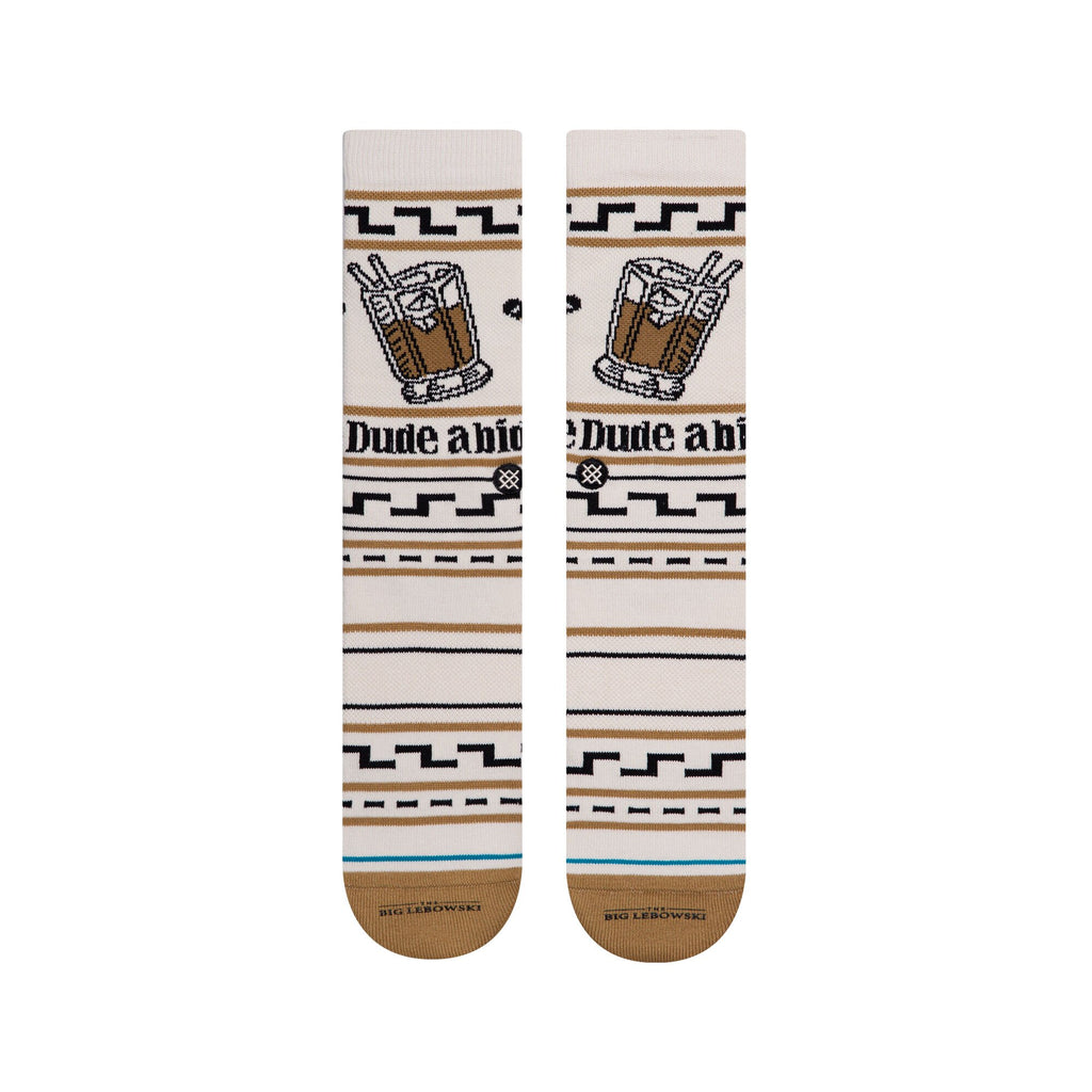 Stance - The Dude Men's Socks, Tan