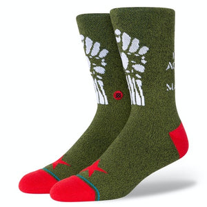 Stance x Rage Against The Machine - Renegades Men's Socks, Army Green