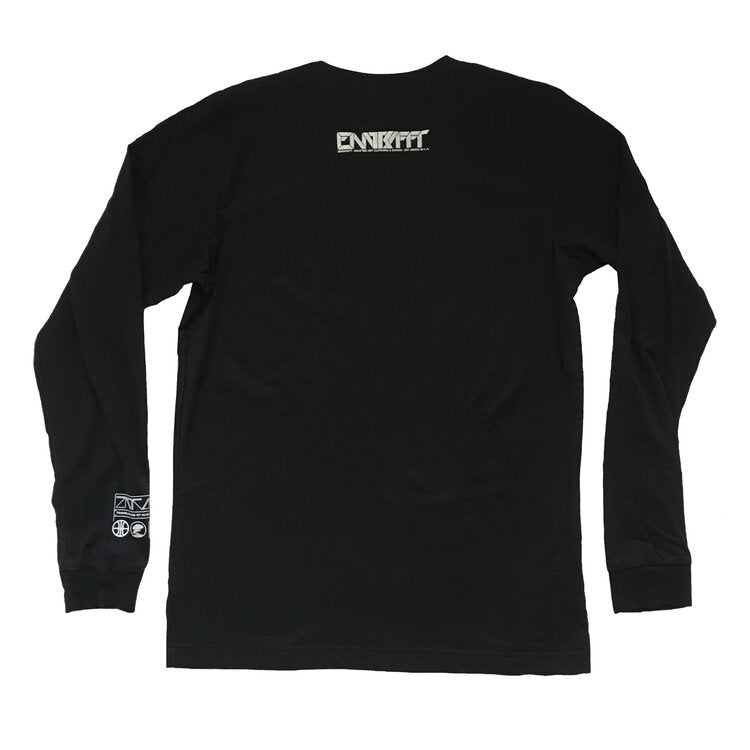 ENGRAFFT - The Alien Craft Men's L/S Tee, Black