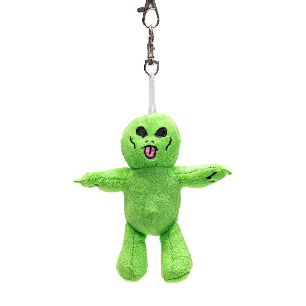RIPNDIP - Lord Alien Plush Keychain, Green