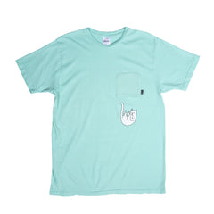 RIPNDIP - Falling For Nermal Men's Pocket Tee, Mint