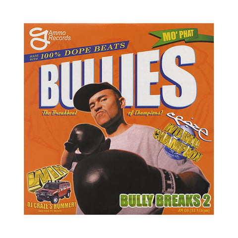 DJ Craze - Bully Breaks 2 , LP Vinyl