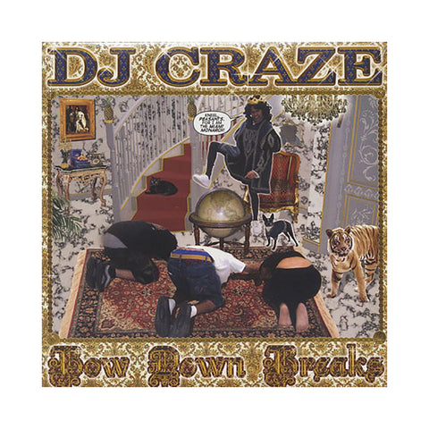 DJ Craze - Bow Down Breaks, LP Vinyl