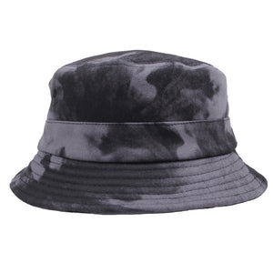 Akomplice - A.O.C.  Bucket Hat, Grey/Black - The Giant Peach
