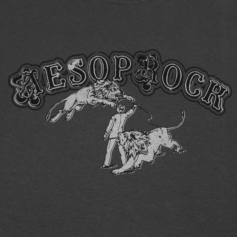 Aesop Rock - Fast Cars Men's Shirt, Charcoal - The Giant Peach
