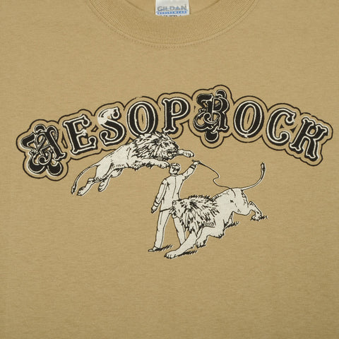 Aesop Rock - Fast Cars Men's Shirt, Tan