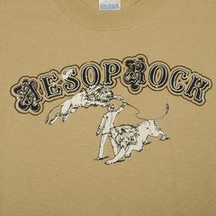 Aesop Rock - Fast Cars Men's Shirt, Tan - The Giant Peach