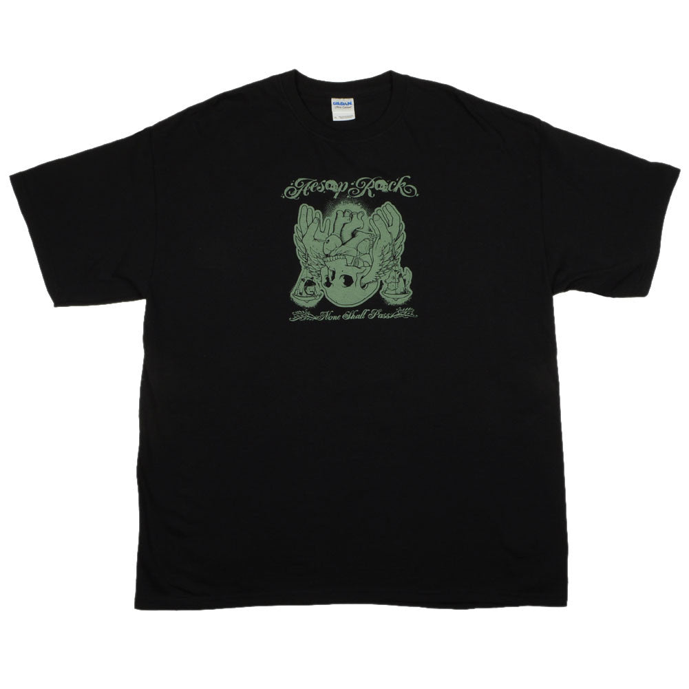 Aesop Rock - None Shall Pass Men's Shirt, Black - The Giant Peach - 1