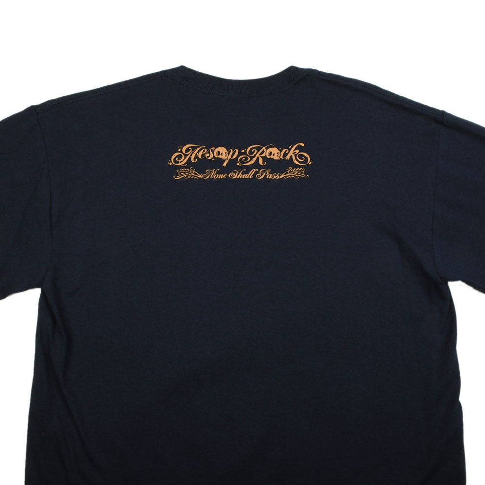 Aesop Rock - Pig Men's Shirt, Navy - The Giant Peach - 3