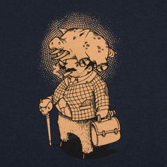 Aesop Rock - Pig Men's Shirt, Navy - The Giant Peach - 4
