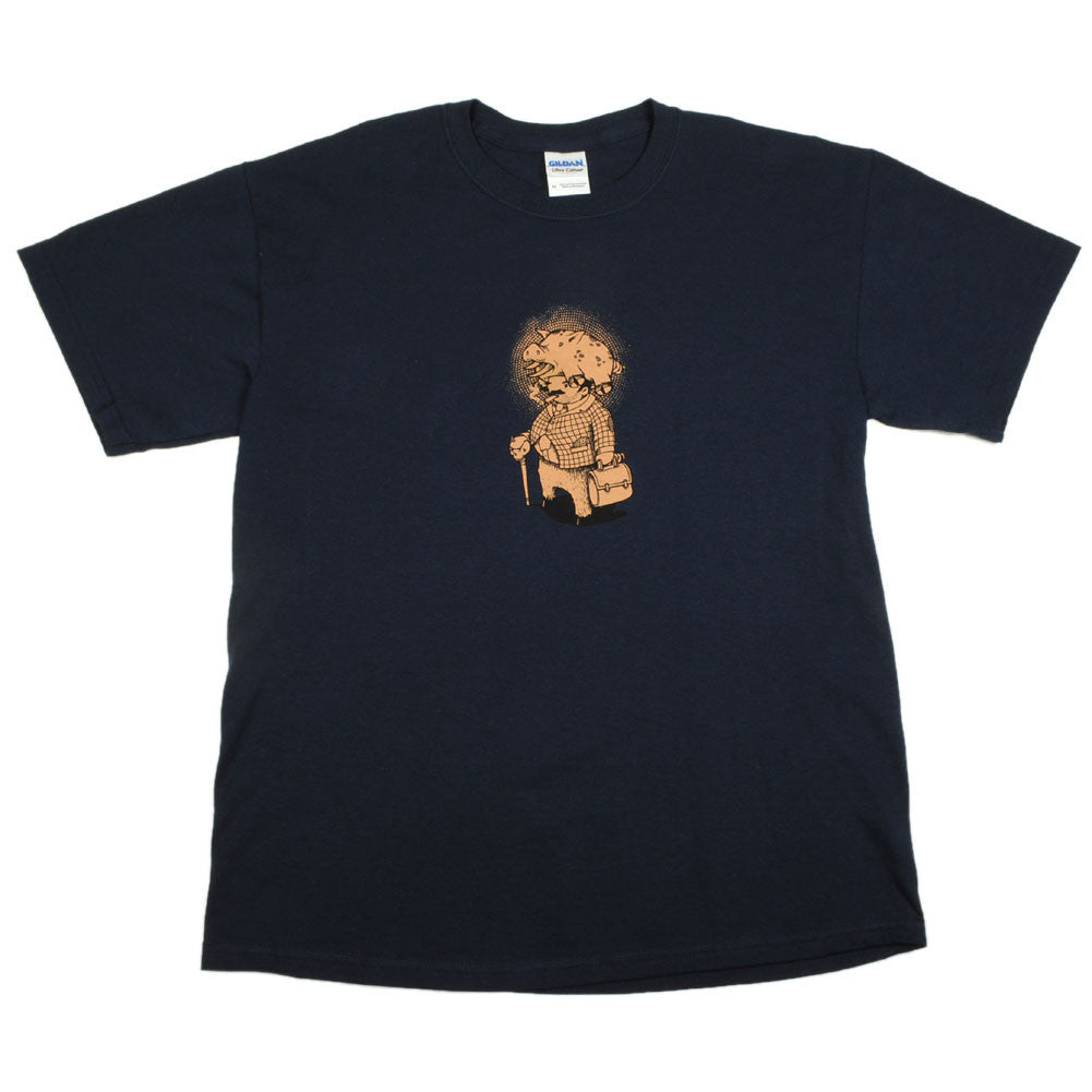 Aesop Rock - Pig Men's Shirt, Navy - The Giant Peach - 1