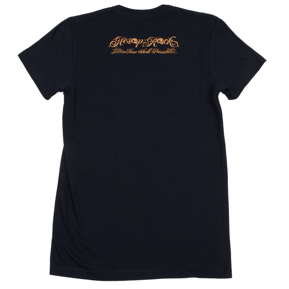 Aesop Rock - Pig Women's Shirt, Navy - The Giant Peach - 2