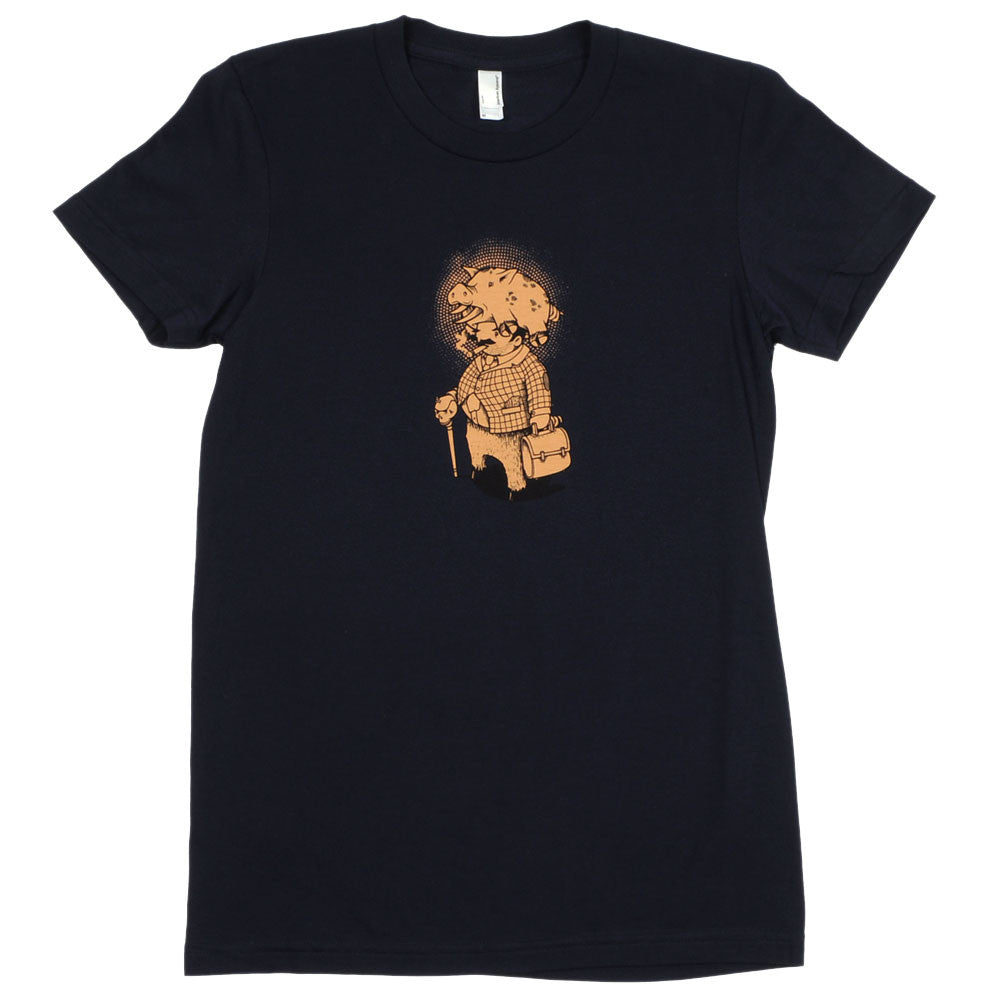Aesop Rock - Pig Women's Shirt, Navy - The Giant Peach - 1