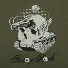 Aesop Rock - Mammoth Shirt, Military Green - The Giant Peach